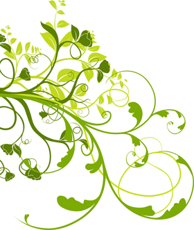 green-flowers-illust-left