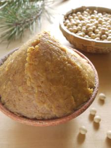麦味噌と大豆2