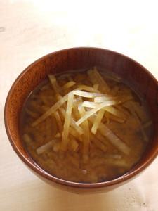 大根のお味噌汁