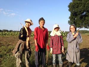 くりもと地球村農業体験ツアー2015.10.14ご報告