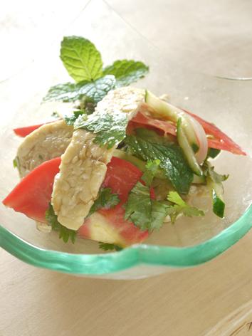 テンペのヤム(ベジ、マクロビ、タイ料理)