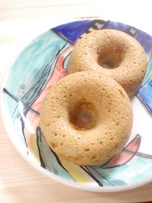 梅ジャム入りマクロビ焼きドーナッツP1270035