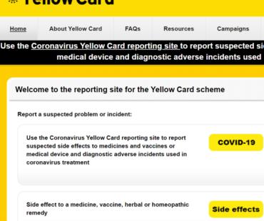 ファイザーワクチン反応一覧(イギリス政府報告書Yellow Card2021.3.28版より)
