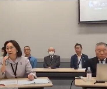 医師らによるワクチン接種中止の嘆願書提出記者会見3.6.24